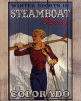 Ski Steamboat Springs Fine Art Print