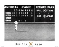 Red Sox- Blow Out Fine Art Print