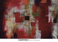 Canyon I Framed Print