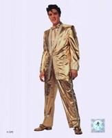 Elvis Presley Wearing Gold Suit (#10) Fine Art Print