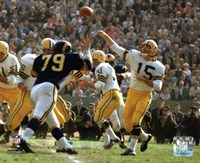 """Bart Starr 1962 Action - 10"""" x 8"""""""