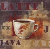 Urban Cafe IV Fine Art Print
