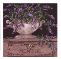 "Menthe by Janet Kruskamp - 9"" x 9"", FulcrumGallery.com brand"