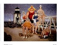 """Beach Vacation by Lowell Herrero - 8"""" x 6"""""""