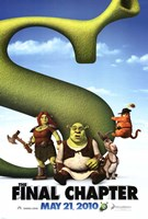 Shrek Forever After - Style D Wall Poster