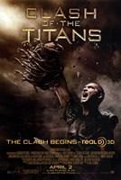 """Clash of the Titans - Style E - 11"""" x 17"""""""