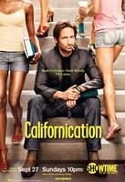 "Californication - sitting on steps - 11"" x 17"""