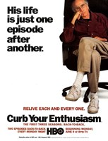 "Curb Your Enthusiasm Relive Each and Every One. - 11"" x 17"""