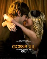 """Gossip Girl Nate and Little J in a big Betrayal - 11"""" x 17"""" - $15.49"""