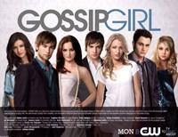 "Gossip Girl Cast Season 3 - 17"" x 11"""