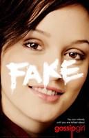 "Gossip Girl Fake - 11"" x 17"""