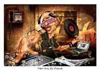 DJ Frank Framed Print