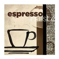 "Espresso Fresco by Tandi Venter - 14"" x 14"""