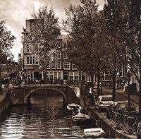 Autumn in Amsterdam IV Fine Art Print