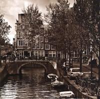 Autumn in Amsterdam IV Framed Print