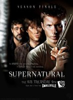 Supernatural (TV) Season Finale Framed Print