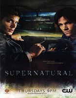 Supernatural (TV) Winchester Brothers Fine Art Print