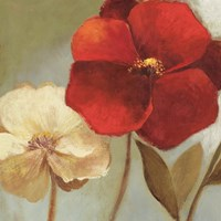 Gentleness (New Kindness Flroal) by Asia Jensen - various sizes, FulcrumGallery.com brand