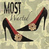Most Wanted Framed Print