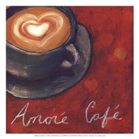 Cafe Amore II Fine Art Print