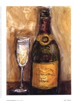 French Champagne Fine Art Print