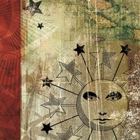 Sun And Moon II Fine Art Print