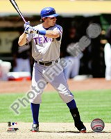 Ian Kinsler 2010 Action Fine Art Print