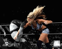 Kelly Kelly 2010 Spotlight Action Fine Art Print