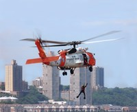 HH-60 Jayhawk United States Coast Guard Fine Art Print