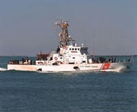 "Coast Guard Cutter ""Ocracoke"" United States Coast Guard - 10"" x 8"""