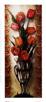 "Paisley Tulip by Alma Lee - 5"" x 11"" - $9.49"