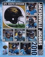 2010 Jacksonville Jaguars Team Composite Fine Art Print