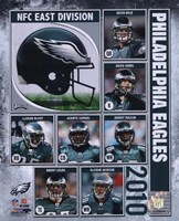 "2010 Philadelphia Eagles Composite, 2010 - 8"" x 10"""