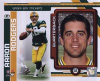 Aaron Rodgers 2010 Studio Plus Fine Art Print