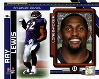 Ray Lewis 2010 Studio Plus Fine Art Print