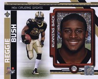 Reggie Bush 2010 Studio Plus Fine Art Print