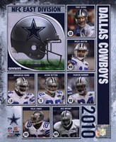 2010 Dallas Cowboys Team Composite Fine Art Print
