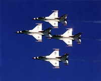 """United States Air Force Thunderbirds - 10"""" x 8"""", FulcrumGallery.com brand"""