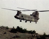 CH-47 Chinook United States Army Fine Art Print