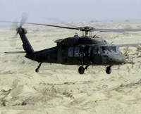 UH-60 Black Hawk United States Army Fine Art Print