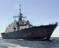 """USS Freedom (LCS-1) United States Navy Photograph - 10"""" x 8"""", FulcrumGallery.com brand"""