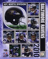 2010 Baltimore Ravens Team Composite Fine Art Print
