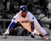 Matt Kemp 2010 Spotlight Action Fine Art Print