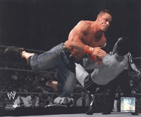 John Cena 2010 Spotlight Action Fine Art Print