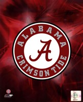 University of Alabama Crimson Tide 2010 Logo Fine Art Print