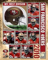 2010 San Francisco 49ers Team Composite Fine Art Print