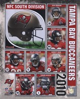 2010 Tampa Bay Buccaneers Team Composite Fine Art Print