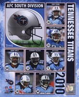 2010 Tennessee Titans Team Composite Fine Art Print