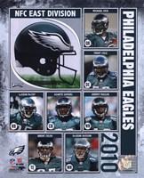 2010 Philadelphia Eagles Team Composite Fine Art Print
