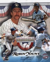 Robin Yount Hall of Fame Limited Edition Fine Art Print